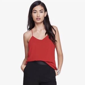 2/$20 EXPRESS Reversible Barcelona Cami - Red/Blk